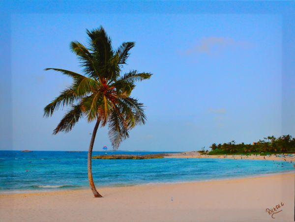 Paradise Island by Rick De La Guardia