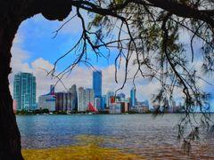 Brickell Bay, Miami by Rick De La Guardia