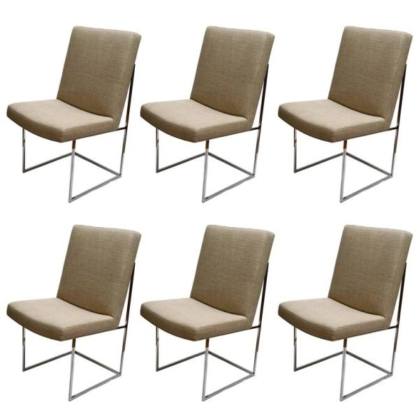 Milo Baughman Dining Room Chairs Set/6