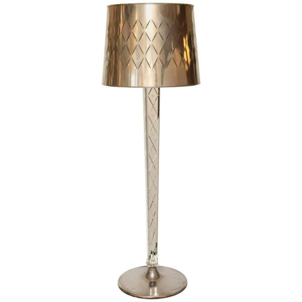 Philippe Starck Mirror Floor-Lamp from the Delano Hotel South Beach