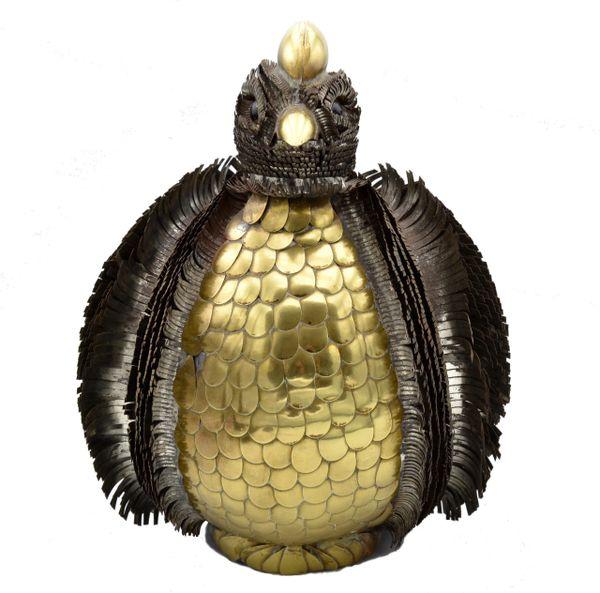 Sergio Bustamante Chicken Sculpture