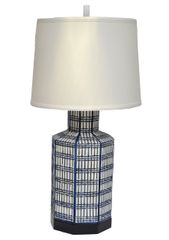 Chapman Ceramic Table Lamp Chinoiserie