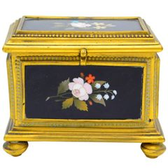 Ormolu-Mounted Jewelry Casket