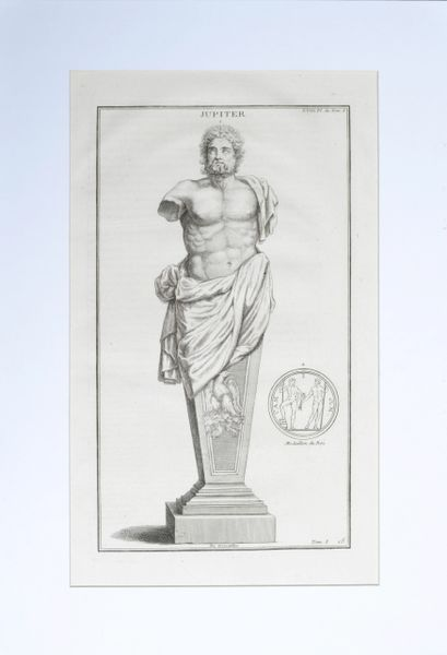 Jupiter a Copperplate Engraving