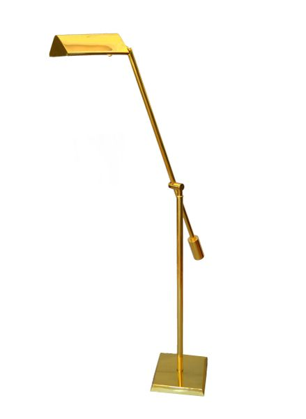 Brass Counter Balanced Floor Lamp by Chapman