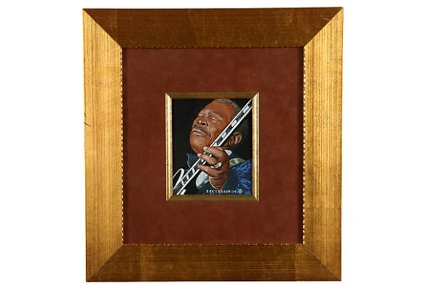 Oil on Canvas of B.B. King
