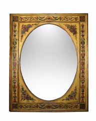 19th Century Gilt Wood Italian Wall Mirror