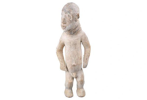 African Rain Man Sculpture