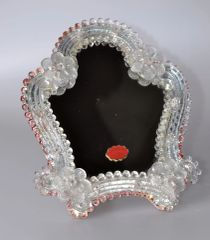 Venetian Murano Glass Table Mirror