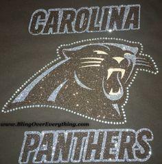 Carolina Panthers Bling Shirt