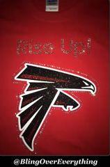 Atlanta Falcons Bling Rise Up Shirt