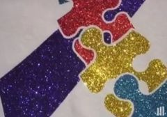 Autism Awareness Bling Shirt