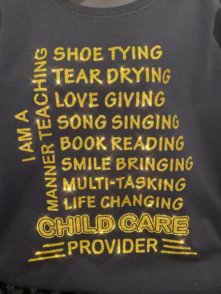 I am....Childcare Provider