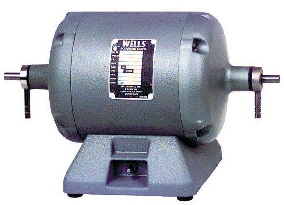 R051 Laboratory Polishing Lathe 1/3 hp (Wells)