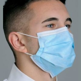 Defend ASTM Level 3 Dual Fit Ear-Loop Pleated Medical Face Masks