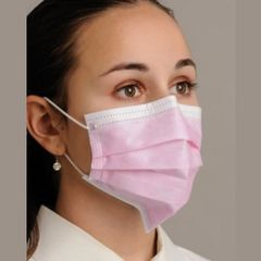 Defend Breathe E-Z Pleated Dual Fit Ear-Loop Face Mask From MyDent(500)