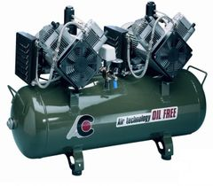 Twin Head 2 cylinder Oiless Compressor (Cattani)
