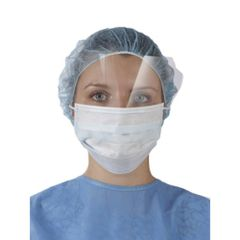 Surgical Anti-Fog Disposable Face Mask With Shield(Case of 100)