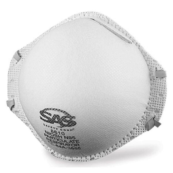 SAS 8610 Medical N95 Particulate Respirator Masks