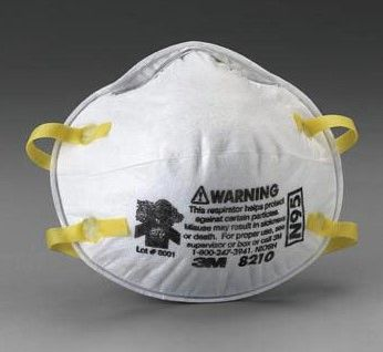 Authentic 3M 8210 N95 Particulate Respirator Masks