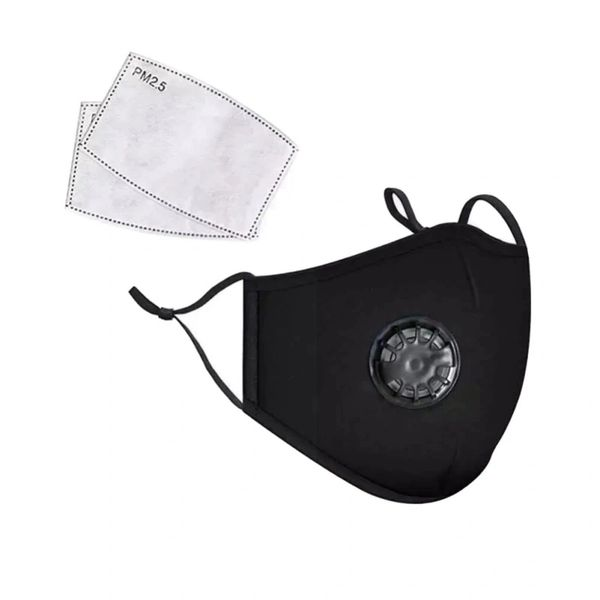 PM2.5 Luxury Washable Fabric EarLoop Face Masks+ Filter