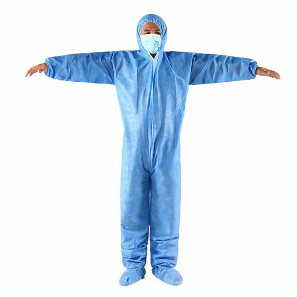 Medical Isolation Gowns Disposable Waterproof Protective Coverall Gown