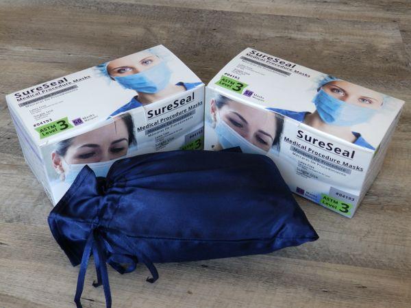 Sure Seal Level 3 Medical Ear-Loop Disposable Face Masks Pk 50