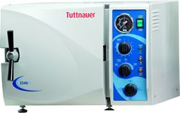 Tuttnauer 2540M Manual Autoclave and Sterilizer Unit