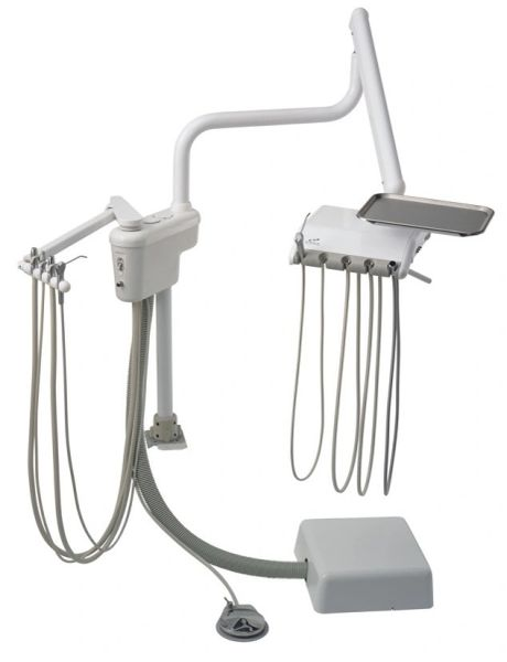 Engle E300 Over Patient Delivery System w/ Assistant's Arm