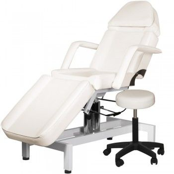 Hydraulic Facial Bed with Stool and Adjustable Head Rest (Spa Systems)