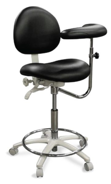 Model 2020 Dental Assistant Stool Contoured Seat (Galaxy)