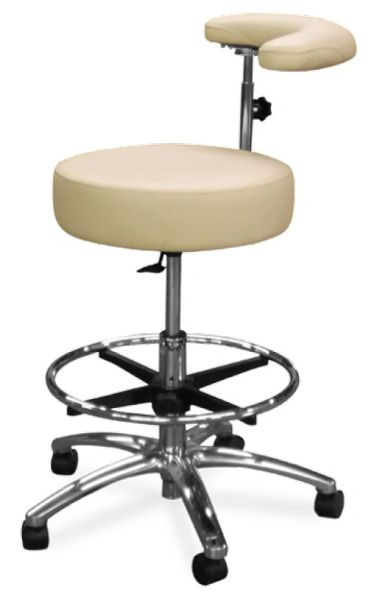 Model 1067-R Dental Assistant Stool (Galaxy)
