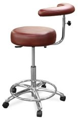 Model 1065 Dental Assistant Stool (Galaxy)