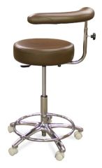Model 1065-GW Dental Assistant Stool (Galaxy)