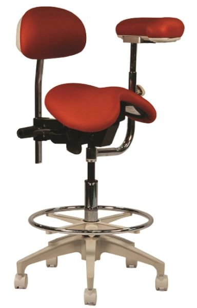 Crown Seating Durango C90SSAB Assistant Stool With Ratcheting Arm