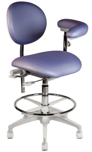 Crown Seating Steamboat C60ABT Assistant Stool With Ratcheting Arm