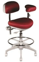 Crown Seating Telluride C50ABT Assistant Stool With Ratcheting Arm