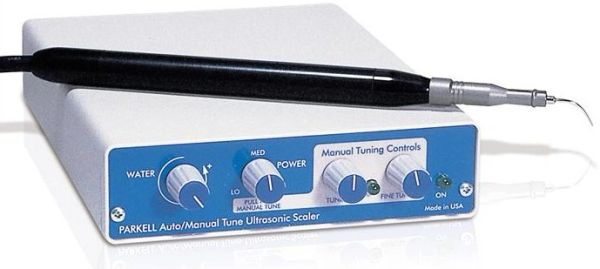 Miniaturized Clean Machine Manual/Auto-Tune Ultrasonic Scaler By Parkell