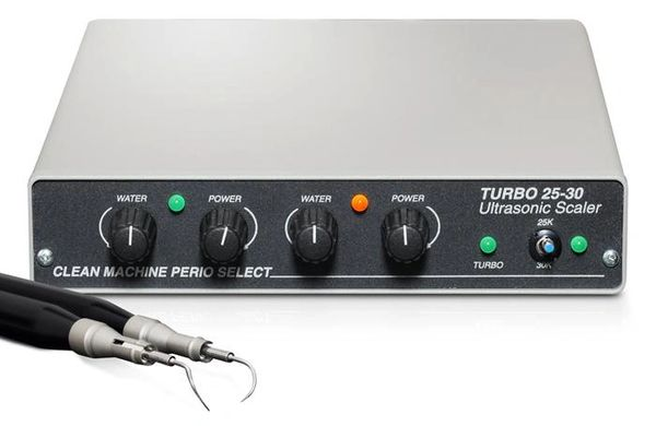 Dual-Handpiece Turbo 25KHz & 30KHz Scaler Discontinued