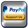 Paypal Support Button Logo for Down the Rabbit Hole Show (DTRH Show) by GenpopMedia, Detroit.