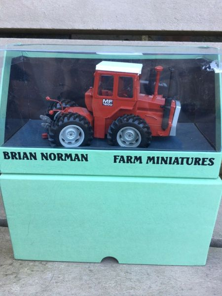 hot products new high amazon Scratch built Brian Norman Massey Ferguson 1200 Tractor 1:32 COLLECTION ONLY