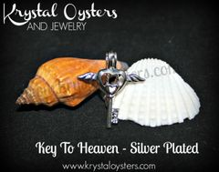 Key To Heaven - Silver Plated