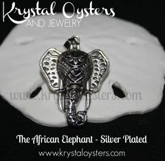 African Elephant - Silver Plated