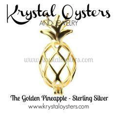 Golden Pineapple - Sterling Silver