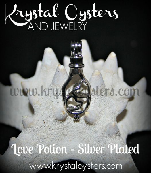 Love Potion - Silver Plated