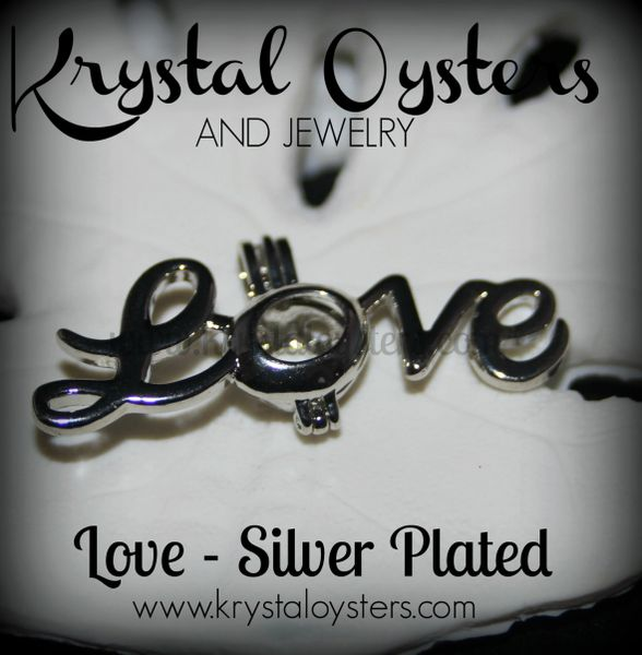 Love - Silver Plated