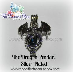 Dragon - Silver Plated