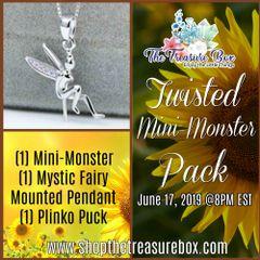 June 17, 2019 - Twisted Mini-Monster Treasure Pack