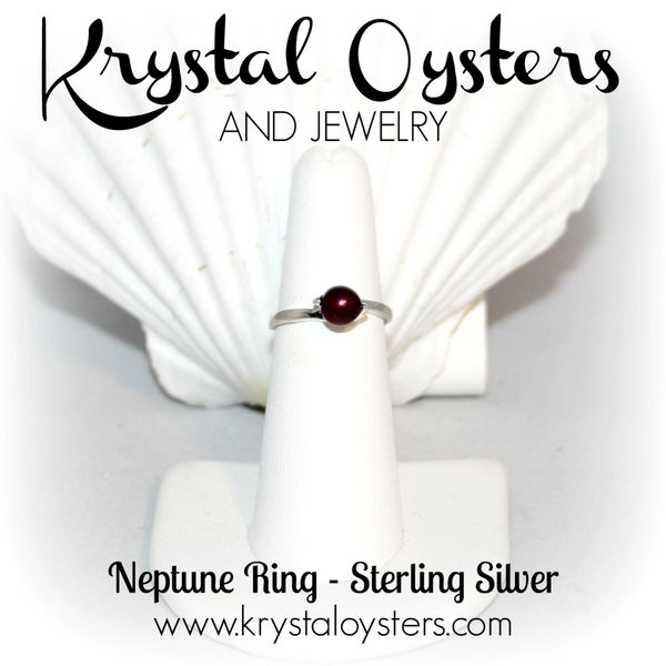 Neptune Ring - Sterling Silver