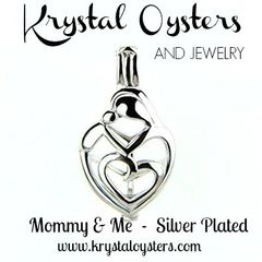 Mommy & Me - Silver Plated